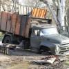 В Керчи мусоровоз провалился под землю