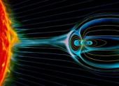 Процессы в магнитном поле Земли