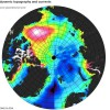 Первые результаты работы спутника CryoSat-2
