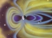 Астрономы увидели сжатие магнитосферы Земли
