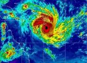 На побережье Австралии обрушился мощный циклон