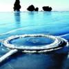 Необычные вращающиеся круги на воде появились в Китае