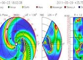 Солнечный выброс энергии — устремился на Землю. 23-24 июня произойдет удар по магнитосфере Земли