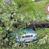 На юг Германии обрушился мощный циклон