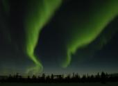 Вспышки на солнце вызовут магнитные бури и полярные сияния