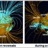 Инверсии магнитного поля Земли, возможно, связаны с движением литосферных плит