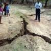 Индия: трещина в земле испугала жителей