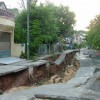 На юге Таиланда массивный обвал земли