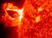 Вспышка на Солнце от 1 сентября