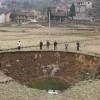 Китайская деревня может провалиться под землю