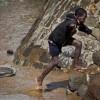Оползень и наводнения в кенийской деревне