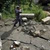 Последствия оползня на северо-востоке Непала