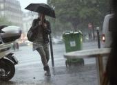 На юго-запад Франции пришли сильные штормы