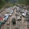 В долине Кедарнатх произошел смертельный оползень