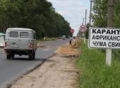 Карантин по АЧС введен в Смоленской области