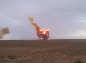 Казкосмос: гептил обнаружен в воронке от взрыва «Протона-М»
