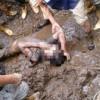 В северо-восточном индийском штате произошел оползень