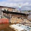 Жители Комсомольска-на-Амуре запасаются продуктами и шутят про паводок