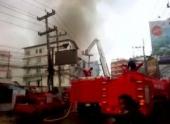В Таиланде горит курортная Паттайя