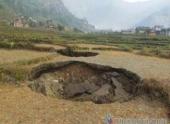 45 провалов образовалось в Непале