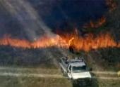 В Оклахоме не утихают низовые пожары
