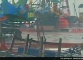 Тропический циклон «Худхуд» бушует в Индии