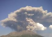 В Японии активизировался вулкан Сакурадзима