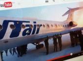 Пассажирам пришлось толкать Ту-134, чтобы вылететь из Игарки