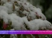 В США устраняют последствия мощного снежного циклона