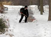 В США бушует зимний шторм
