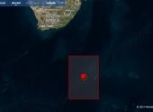 Землетрясение магнитудой 6.2 произошло к югу от Африки