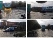 Дожди затопили дороги и дома в Северной Ирландии