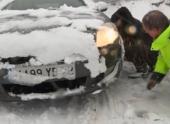 Во Французских Альпах застряли 15 тысяч автомобилей