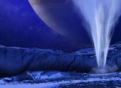 Ученые изучают гейзеры на спутнике Юпитера