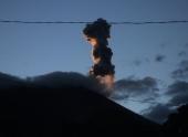 В Гватемале проснулся вулкан Акатенанго