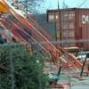 Ураган оставил калининградцев без транспорта и цирка