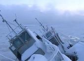 Замёрз незамерзающий Кольский залив