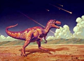 Учёные воссоздали огненную бурю, которая могла уничтожить динозавров