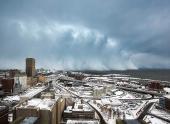 На США надвигается разрушительная снежная буря