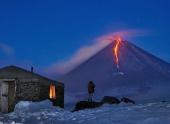 Вулкан Ключевской пробудился от годового сна