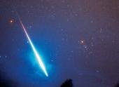 В небе сияет новогодний метеорный поток Квадрантиды