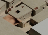 Археологи восстановили облик египетских жилищ
