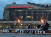 Молния ударила в приземлявшийся в «Шереметьево» самолет