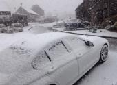 В Шотландию после +20 вновь вернулась зима