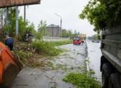 В результате урагана на юге Сахалина объявлен режим ЧС