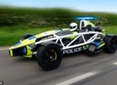 Британские полицейские получат скоростной автомобиль