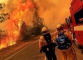 Пожар в Калифорнии привел к эвакуации из округа Напа