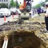 По всему Сеулу появились дыры в земле