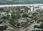 Проливные дожди в Уругвае оставили сотни людей без крова