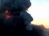 Вулкан Шивелуч выбросил в небо 8-километровый столб пепла